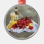 Mudbugs y ornamento de la cerveza adorno