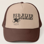 Mudcats Logo Trucker Hat