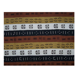 Mudcloth Number 1 Post Cards