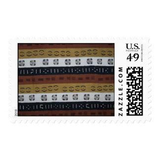 Mudcloth Number 1 Postage Stamp