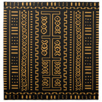 Mudcloth Pattern Napkin