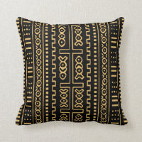 Mudcloth Throw Pillow