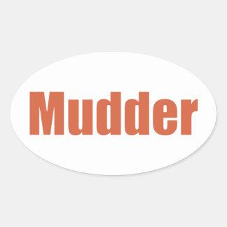 Mudder Sticker