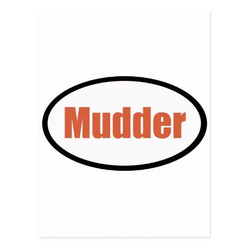 mudder tarjeta postal