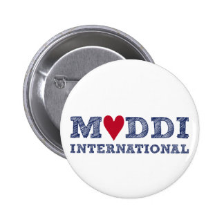MUDDI INTL Series zum Muttertag Pinback Button