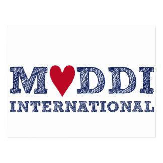 MUDDI INTL Series zum Muttertag Postcard