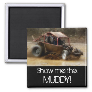 Mudding in a Dune Buggy Magnet