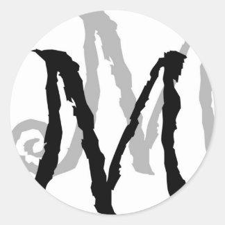 Muddle Management Logo Classic Round Sticker