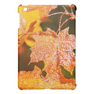 muddled maple leaves in autumn iPad mini case