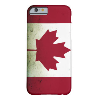 Muddy Canadian Barely There iPhone 6 Case