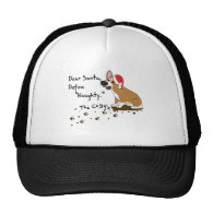 Muddy Christmas Corgi Trucker Hats