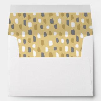 Muddy Dabs Pattern Envelope