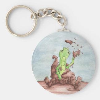 Muddy Dragon Keychain