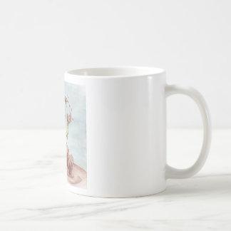 Muddy Dragon Classic White Coffee Mug