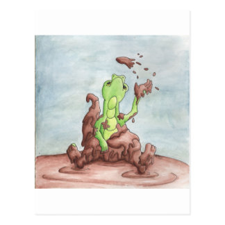 Muddy Dragon Postcard