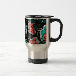Muddy Floral Coffee Mug