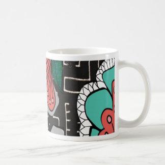 Muddy Floral Coffee Mugs