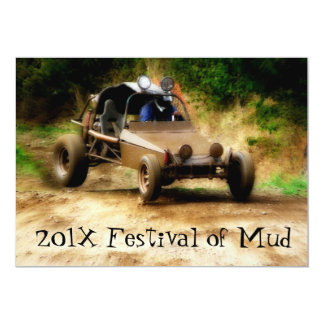 Muddy Mudfest Dunebuggy 4x4ing  event Card