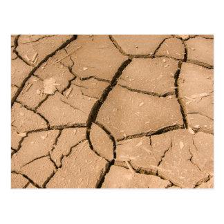 Muddy off roading 4x4 mud pattern green laning postcard