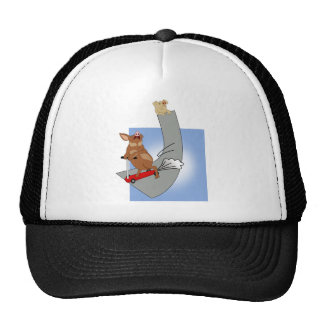 Muddy on Skate Ramp 2 Trucker Hat