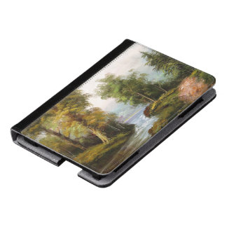 Muddy Pond Trees Stream Kindle Fire Case