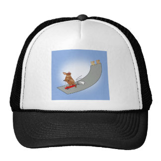 Muddy Riding the Ramp Trucker Hat