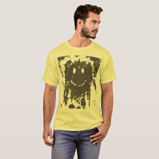 Muddy Smiley Face T-Shirt
