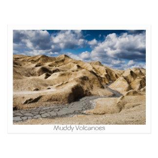 Muddy Volcanoes Postcard