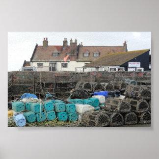 Mudeford Quay, Dorset Poster