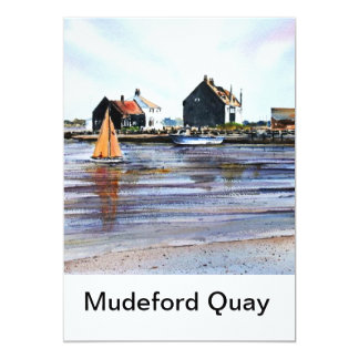 Mudeford Quay Greeting Cards No1