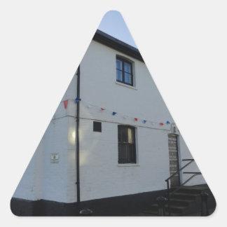 Mudeford Spit Triangle Sticker