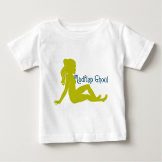 Mudflap Ghoul Lime Teal Baby T-Shirt