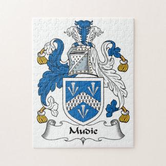Mudie Family Crest Puzzles