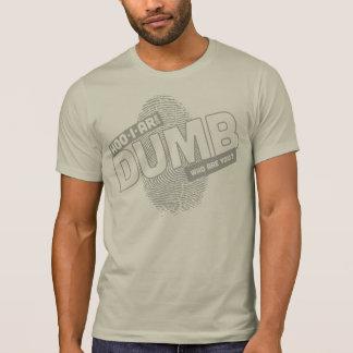 Mudo Camiseta