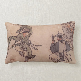 Mudong Danwon Korean Traditional Painting Pillow