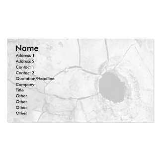 Mudpot or hole business card templates