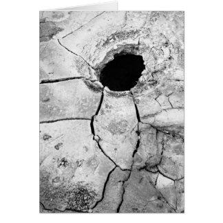 Mudpot or hole card