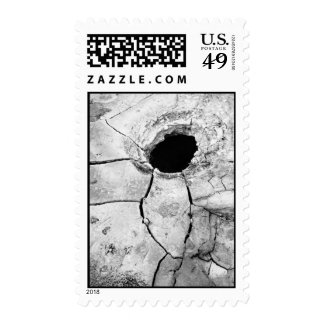 Mudpot or hole postage