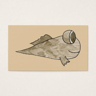 Mudskipper Fish. Business Card