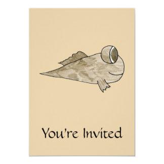 Mudskipper Fish. Card