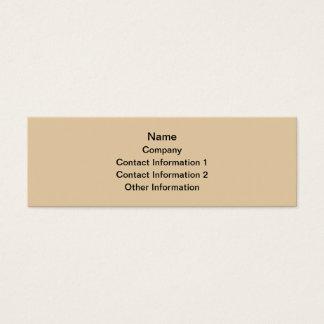 Mudskipper Fish. Mini Business Card