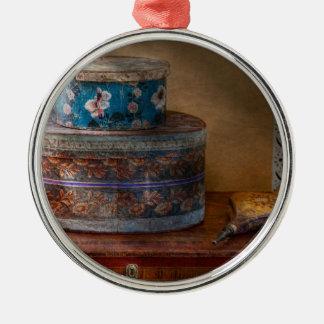 Muebles - cajas del gorra con la oleada ornamento de navidad