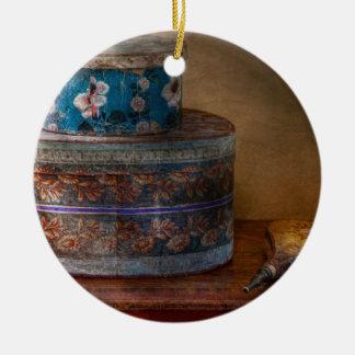 Muebles - cajas del gorra con la oleada ornamente de reyes