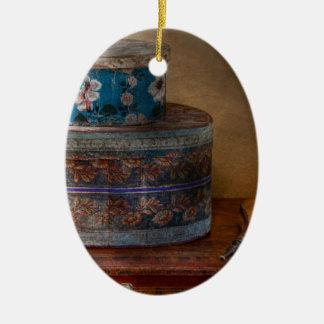 Muebles - cajas del gorra con la oleada ornamento para arbol de navidad
