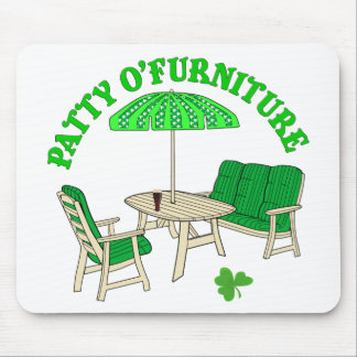 Muebles de Patty O Tapete De Ratón