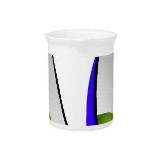 Muebles del diseño interior de la silla del huevo jarras para bebida