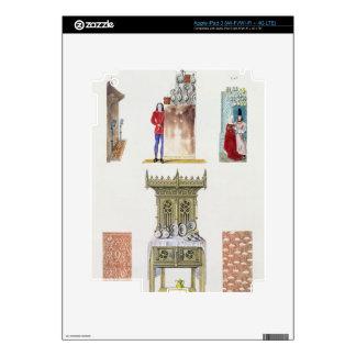 Muebles del siglo XV, del 'franco de los monumento Pegatinas Skins Para iPad 3