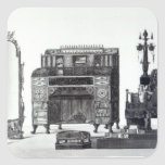 Muebles en el estilo griego pegatina