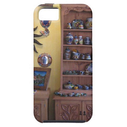 Muebles mexicanos del artesano iPhone 5 Case-Mate carcasa