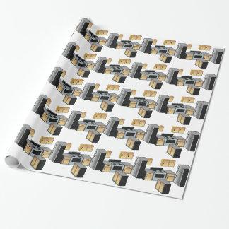 Muebles y aplicaciones de la cocina papel de regalo